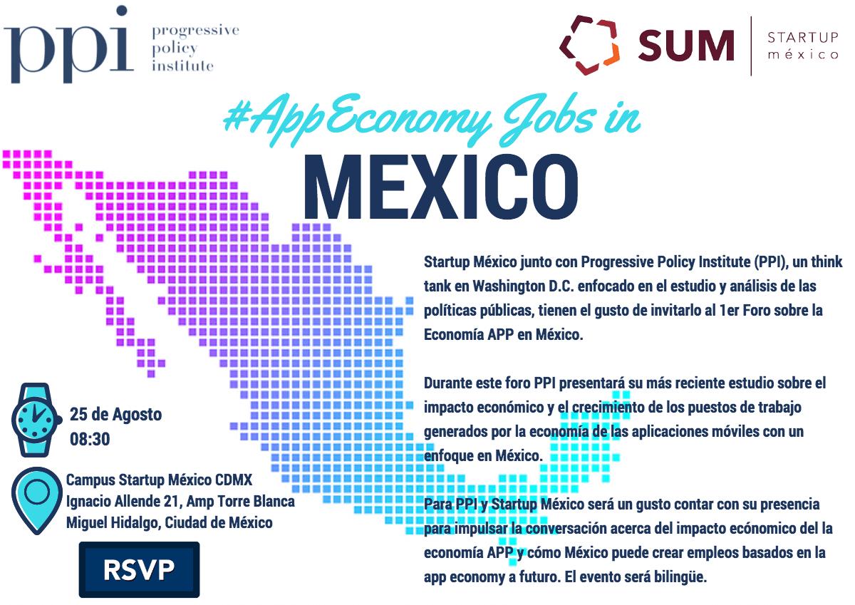 Invitation -- App Economy Jobs in Mexico